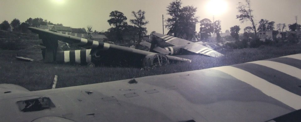 Horsa Gliders Crash Landed On D-Day at Pegasus Bridge